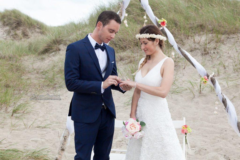 heiraten am strand nordsee