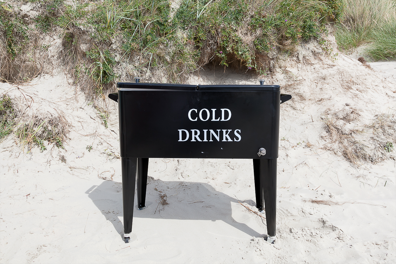 Cold drinks am strand heiraten