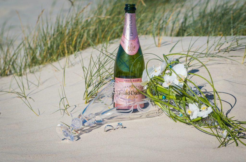 Heiraten Sie in Dänemark am Strand