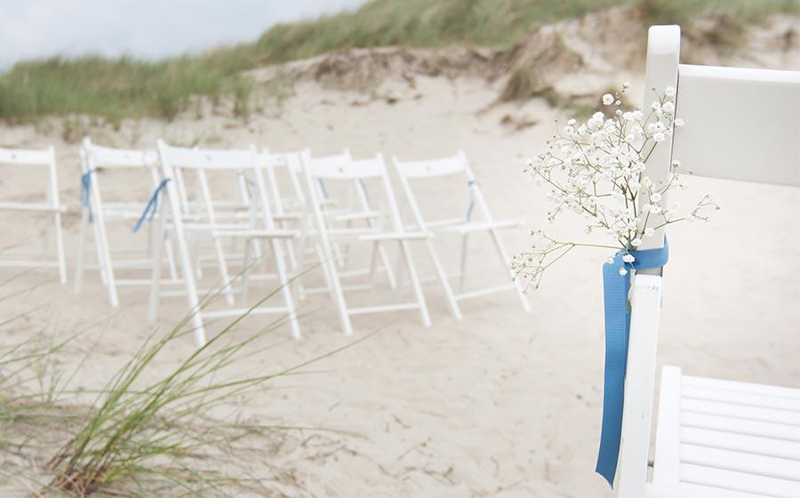 wedding on the beach in denmark