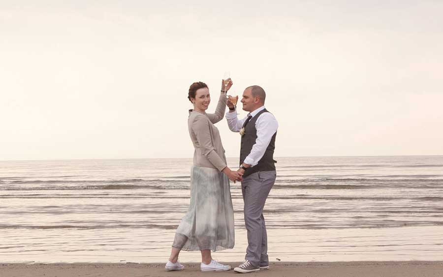 North sea wedding